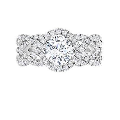 Престижное бриллиантовое кольцо