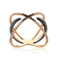 Дизайнерские кольца с бриллиантами