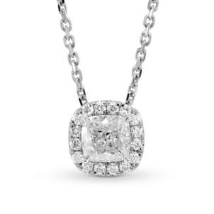 Оправа подвески для бриллианта от 1 карата