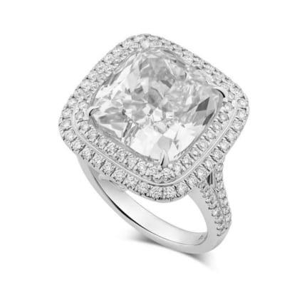 Оправа кольца с бриллиантом десять карат