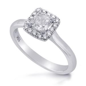 Элегантная оправа кольцо с бриллиантом