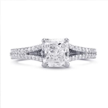 Оправа кольца для бриллианта Радиант 1 карат