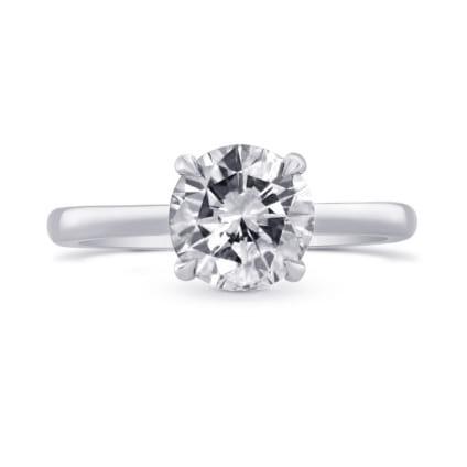 Оправа помолвочного кольца для бриллианта 2 карата