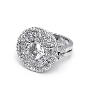 Оправа кольца для крупного бриллианта
