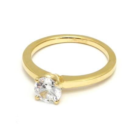 Оправа - тонкое классическое кольцо