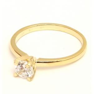 Тонкая оправа кольца для бриллианта 1 карат