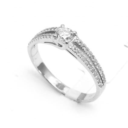 Оправа недорогое кольцо с бриллиантом от 0.30 карата