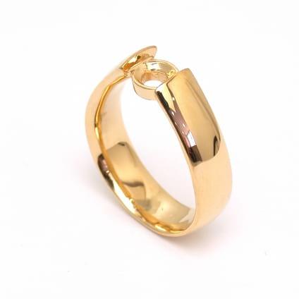 Оправа мужского кольца для бриллианта от 0.5 карат