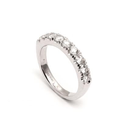 Свадебное кольцо с бриллиантами 0.90 карата