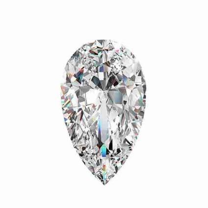 Бриллиант, Груша, 0.50 карат, D, VS1