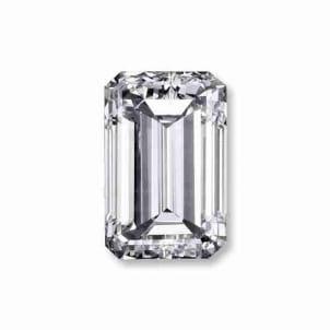 Бриллиант, Изумруд, 1.02 карат, D, VVS2