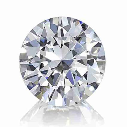 Бриллиант, Круг, 0.61 карат, F, VS2
