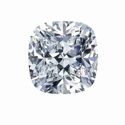 Бриллиант, Кушион, 3.51 карат, H, SI1