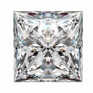 Бриллиант, Принцесса, 3.10 карат, D, SI1