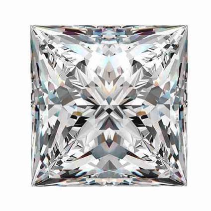 Бриллиант, Принцесса, 0.61 карат, D, VVS2