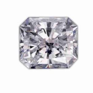 Бриллиант, Радиант, 2.50 карат, D, VS1