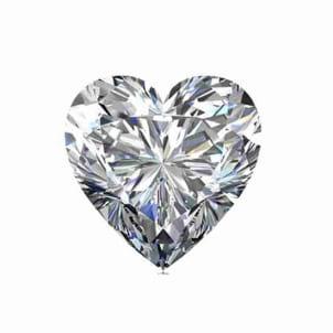 Бриллиант, Сердце, 3.50 карат, F, SI1