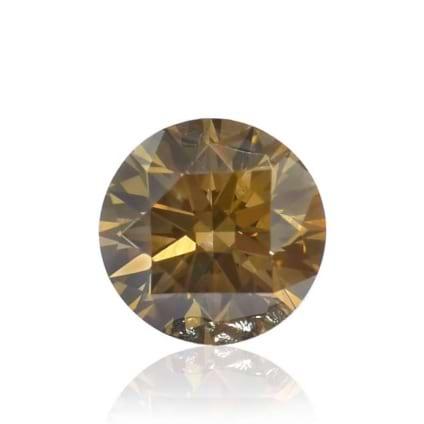 Камень без оправы, бриллиант Цвет: Коричневый, Вес: 0.29 карат
