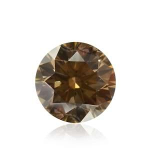 Камень без оправы, бриллиант Цвет: Коричневый, Вес: 0.32 карат