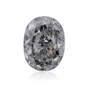 Камень без оправы, бриллиант Цвет: Серый, Вес: 1.41 карат