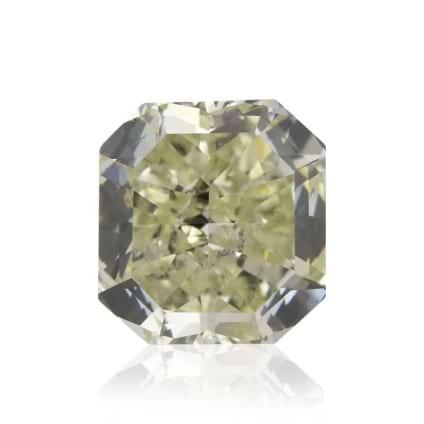 Камень без оправы, бриллиант Цвет: Зеленый, Вес: 0.80 карат