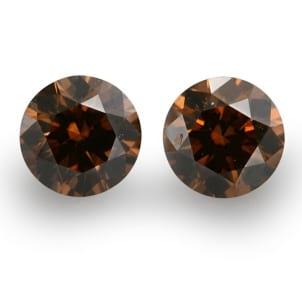Fancy Dark Orange Brown 665886