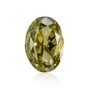 Камень без оправы, бриллиант Цвет: Хамелеон, Вес: 1.01 карат