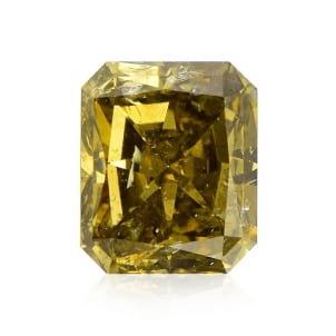 Камень без оправы, бриллиант Цвет: Хамелеон, Вес: 1.82 карат