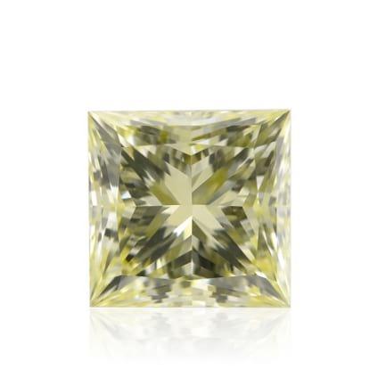 Камень без оправы, бриллиант Цвет: Желтый, Вес: 2.03 карат