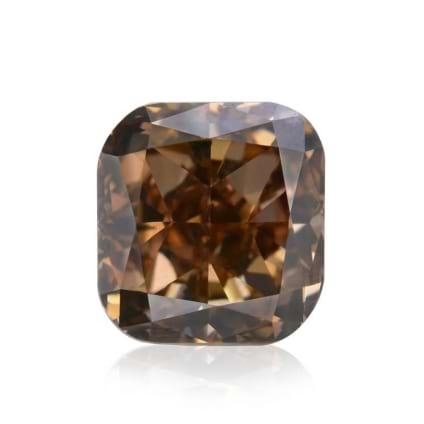 Камень без оправы, бриллиант Цвет: Коричневый, Вес: 1.30 карат