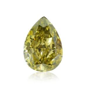 Камень без оправы, бриллиант Цвет: Хамелеон, Вес: 1.43 карат