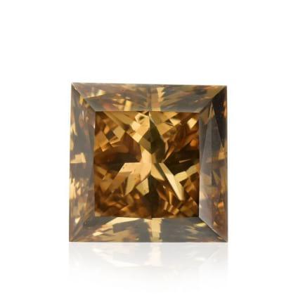 Камень без оправы, бриллиант Цвет: Коричневый, Вес: 1.10 карат
