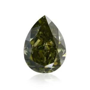 Камень без оправы, бриллиант Цвет: Хамелеон, Вес: 1.30 карат