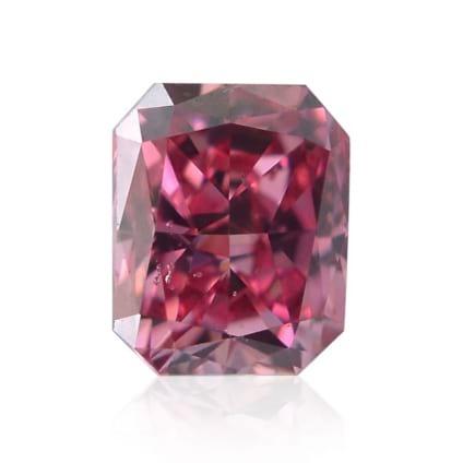 Камень без оправы, бриллиант Цвет: Розовый, Вес: 0.13 карат