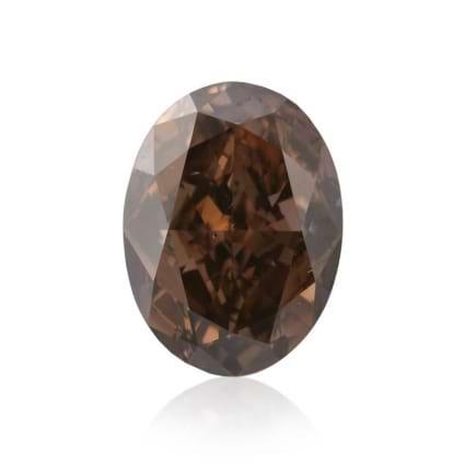 Камень без оправы, бриллиант Цвет: Коричневый, Вес: 1.42 карат