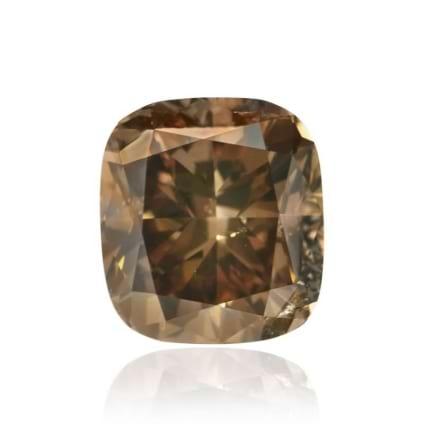 Камень без оправы, бриллиант Цвет: Коричневый, Вес: 2.07 карат