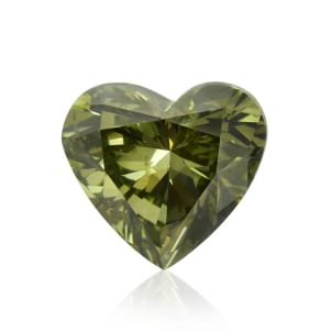 Камень без оправы, бриллиант Цвет: Хамелеон, Вес: 1.19 карат