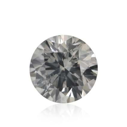 Камень без оправы, бриллиант Цвет: Серый, Вес: 0.29 карат