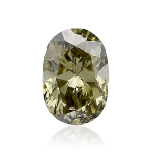 Камень без оправы, бриллиант Цвет: Хамелеон, Вес: 0.11 карат
