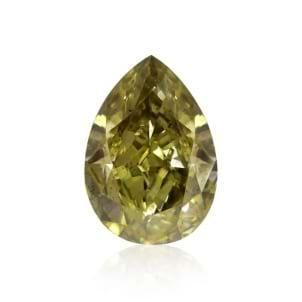 Камень без оправы, бриллиант Цвет: Хамелеон, Вес: 1.00 карат