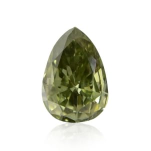 Камень без оправы, бриллиант Цвет: Хамелеон, Вес: 0.51 карат