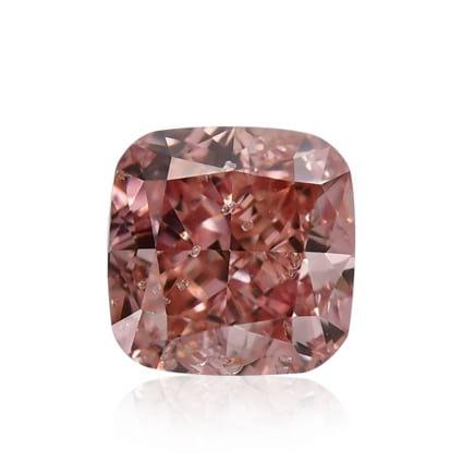 Камень без оправы, бриллиант Цвет: Розовый, Вес: 0.51 карат
