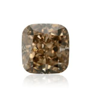 Камень без оправы, бриллиант Цвет: Коричневый, Вес: 1.13 карат