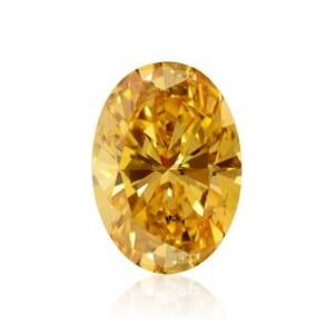 Fancy Vivid Yellow Orange 911688