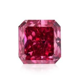 Камень без оправы, бриллиант Цвет: Красный, Вес: 0.35 карат