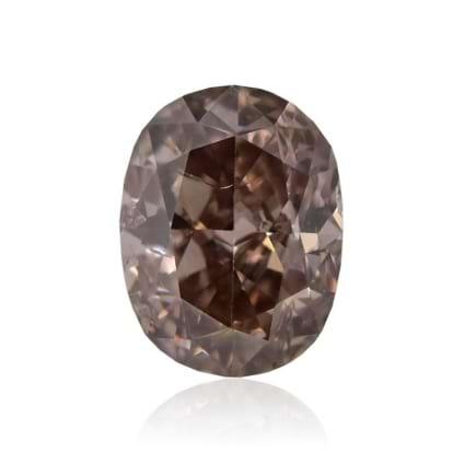 Камень без оправы, бриллиант Цвет: Коричневый, Вес: 0.50 карат