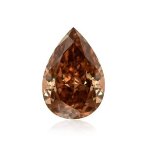 Камень без оправы, бриллиант Цвет: Коричневый, Вес: 0.20 карат