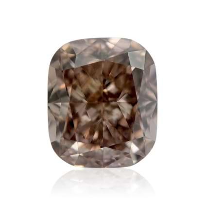 Камень без оправы, бриллиант Цвет: Коричневый, Вес: 1.03 карат