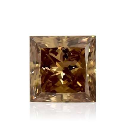 Камень без оправы, бриллиант Цвет: Коричневый, Вес: 1.16 карат