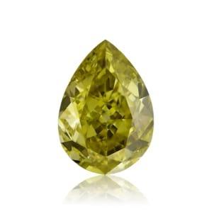 Камень без оправы, бриллиант Цвет: Хамелеон, Вес: 0.70 карат